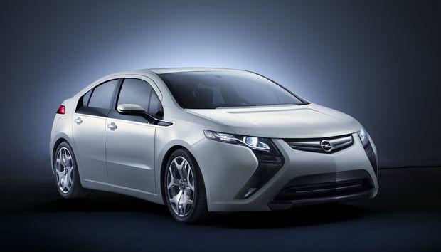 Opel Ampera.                       Fuente:Opel.