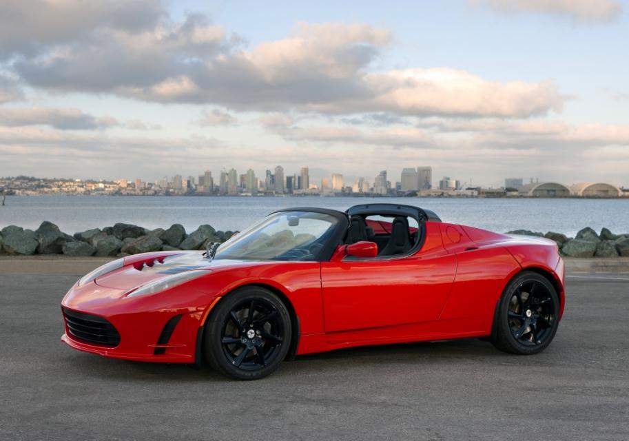 Tesla Roadster. Fuente:Tesla