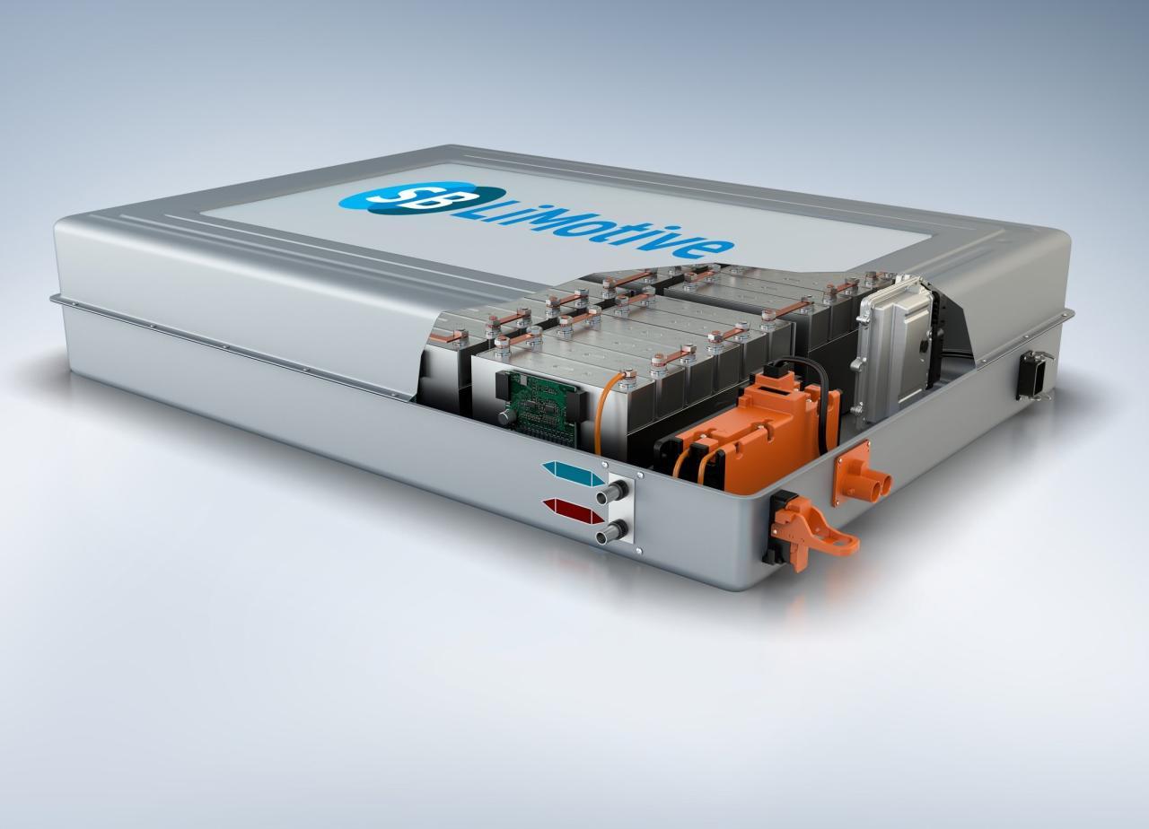Batería BOSCH de iones de litio