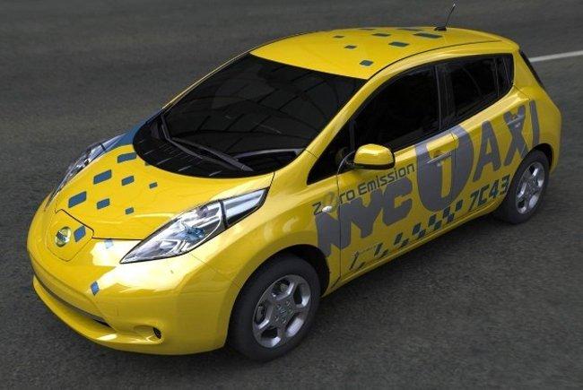 Nissan Leaf NYtaxi