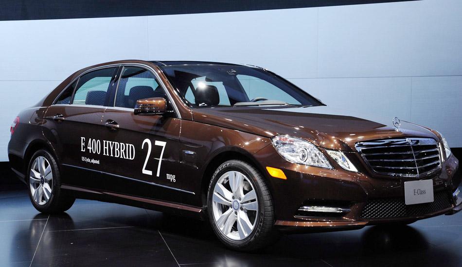 Mercedes E300 BlueTec Hybrid